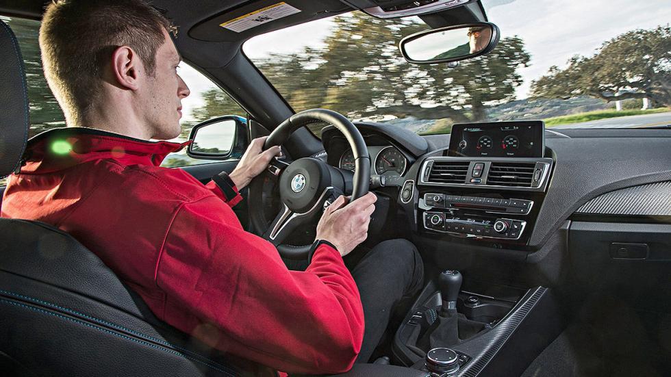 Prueba: BMW M2. CONDUCCIÓN