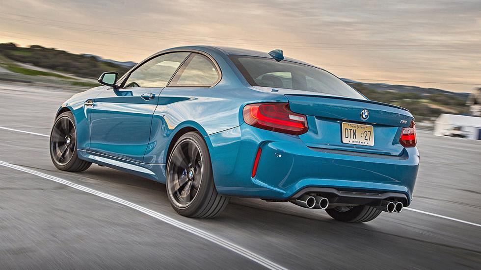 Prueba: BMW M2. TRASERA