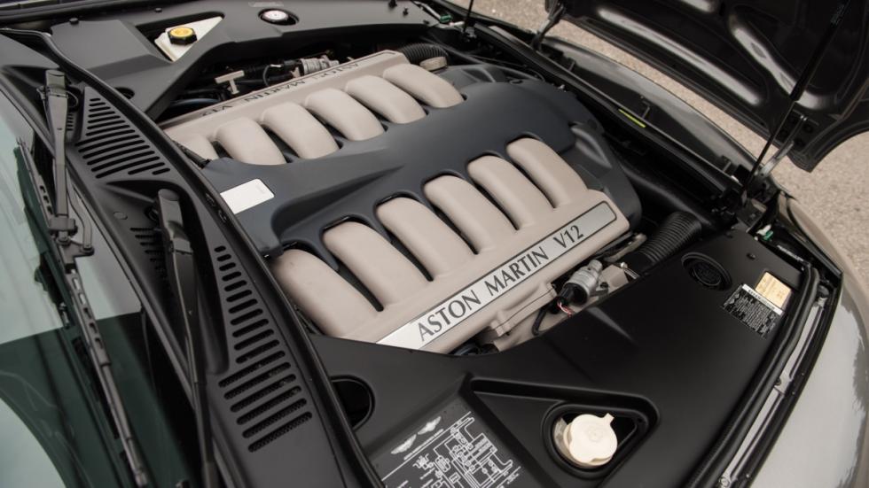 El motor del Aston Martin DB AR1 Zagato