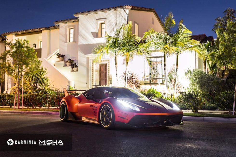 Ferrari 458 Italia by Misha Designs morro