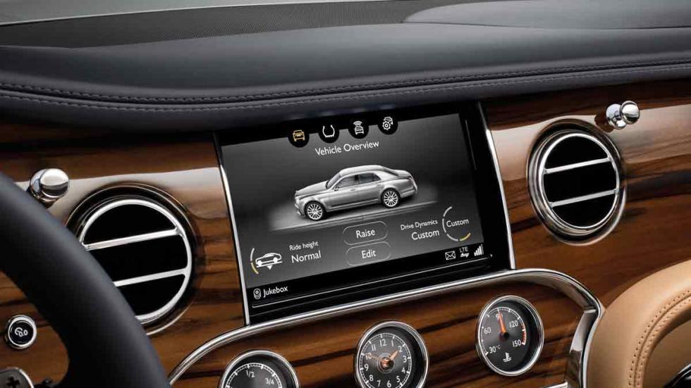Nuevo Bentley Mulsanne interior