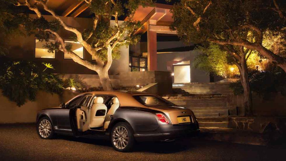 Nuevo Bentley Mulsanne trasera