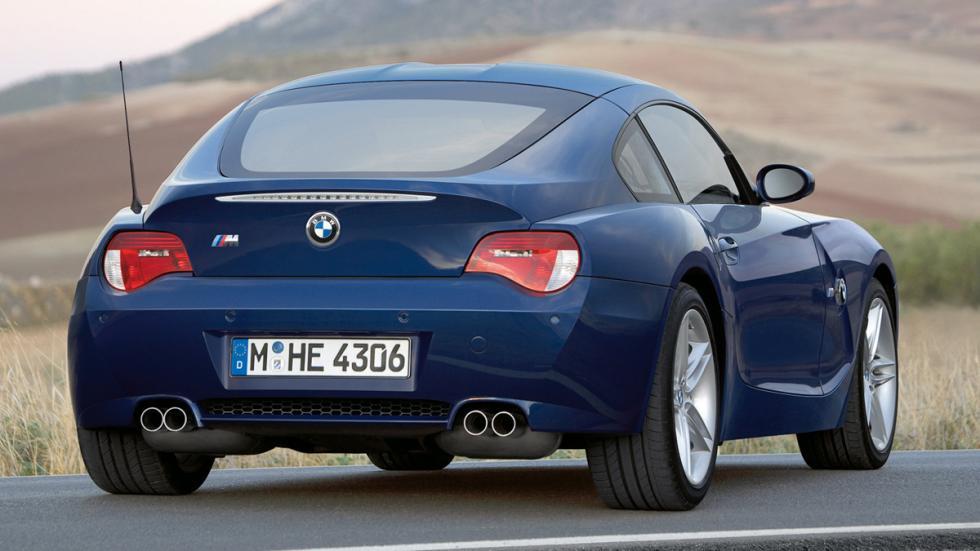 BMW Z4 M Coupé trasera