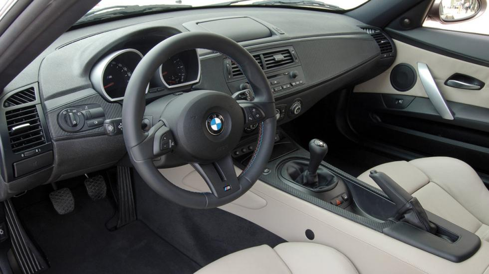 BMW Z4 M Coupé interior
