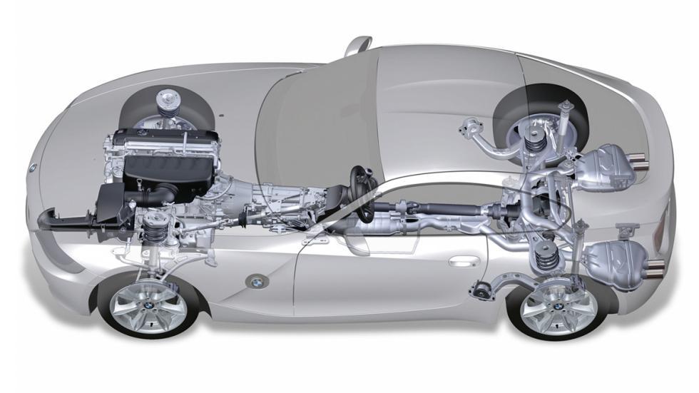 BMW Z4 M Coupé chasis