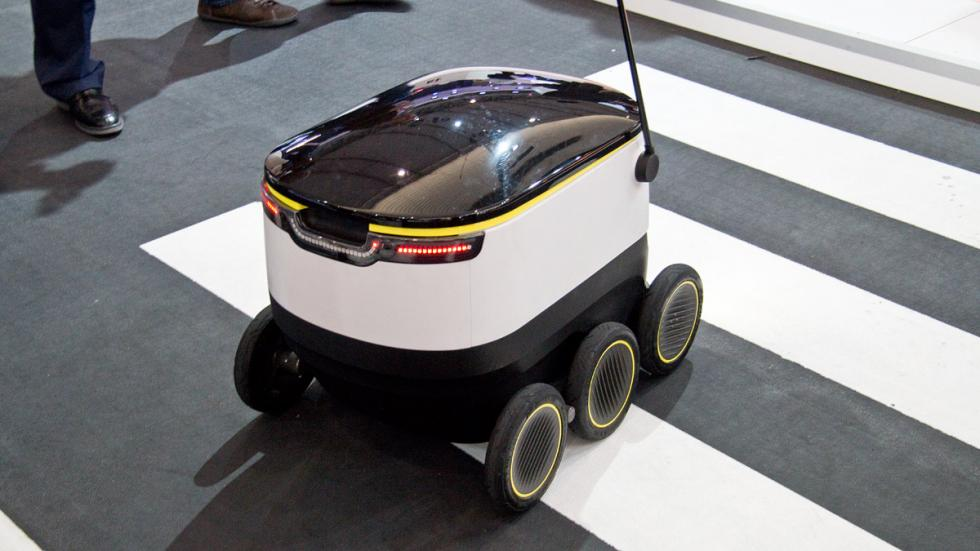 Mobile World Congress MWC robot seis ruedas