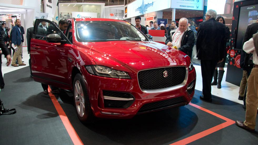 Mobile World Congress MWC jaguar f-pace