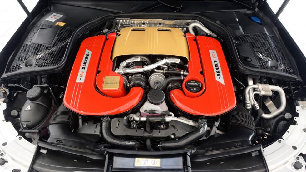 Brabus 650 motor