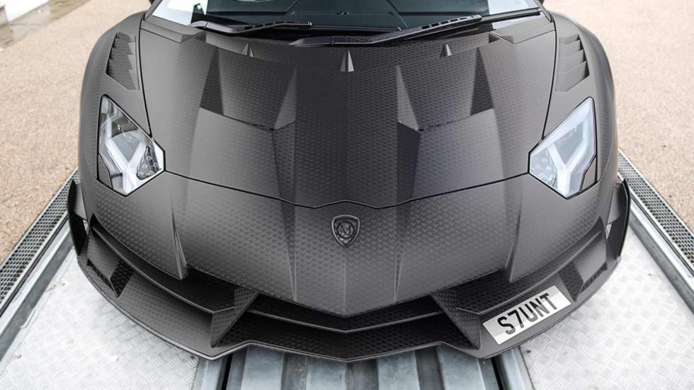 frontal del  Aventador Superveloce J.S 1 Edition