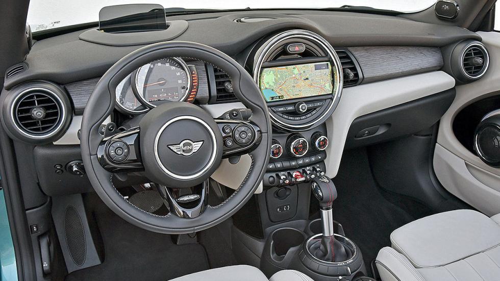 Mini Cooper S Cabrio volante