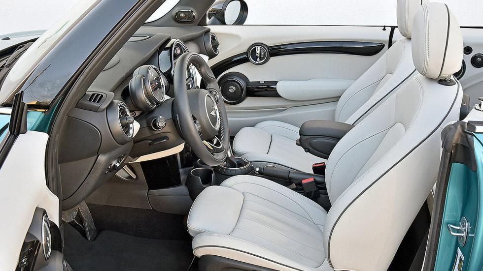 Mini Cooper S Cabrio estática asientos