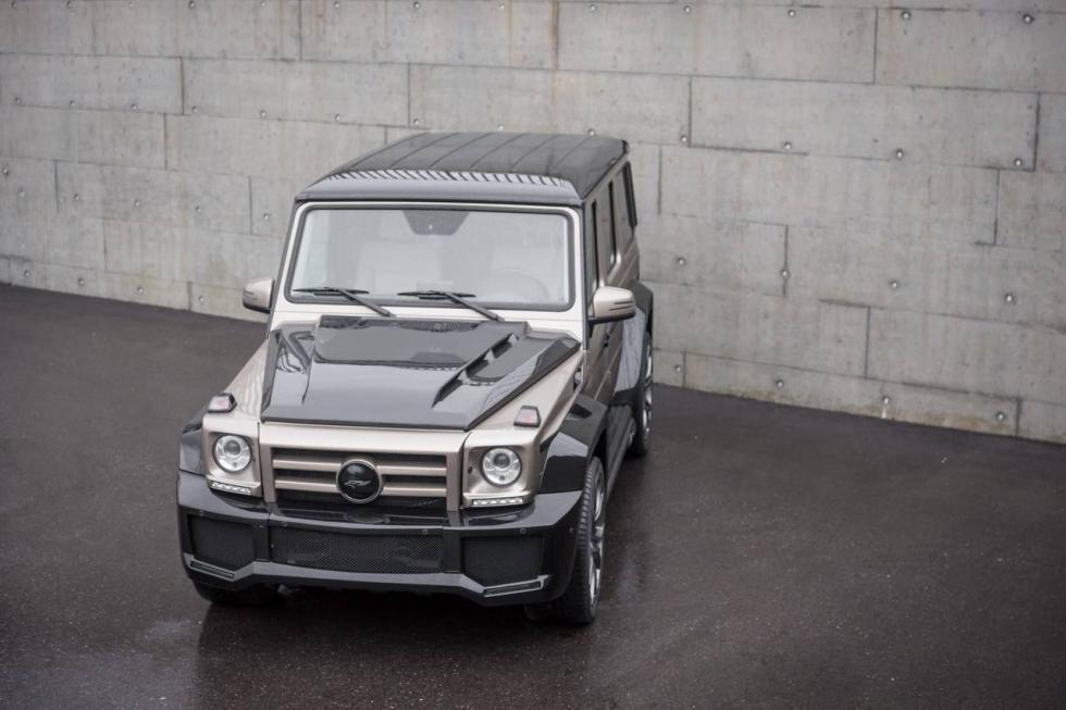 Mercedes Clase G Shanin by FAB Design morro