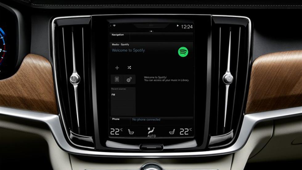 Spotify en los Volvo