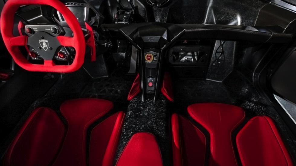 Lamborghini Sesto Elemento Hong Kong salpicadero