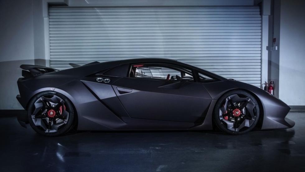 Lamborghini Sesto Elemento Hong Kong lateral