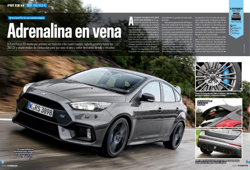 Fotos revista Auto Bild 501