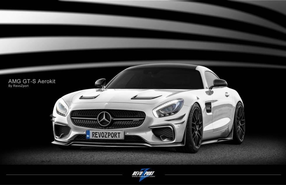 Mercedes AMG GT tres cuartos delanteros