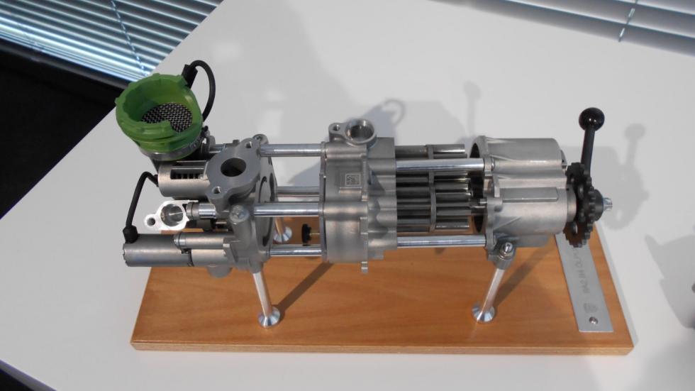 Bomba de aceite del Porsche 718