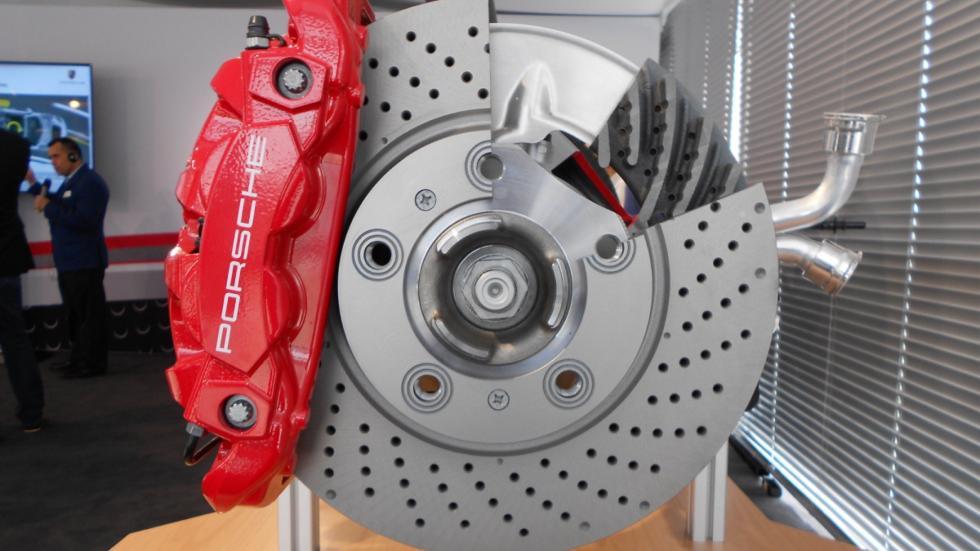 Frenos deportivos del Porsche 718