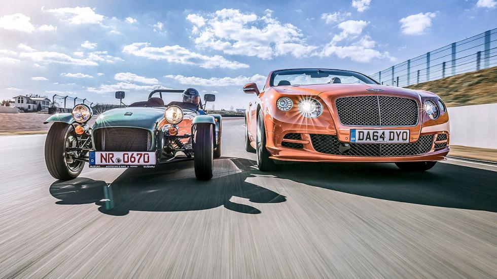 Bentley Continental GT Speed/Caterham Seven 16