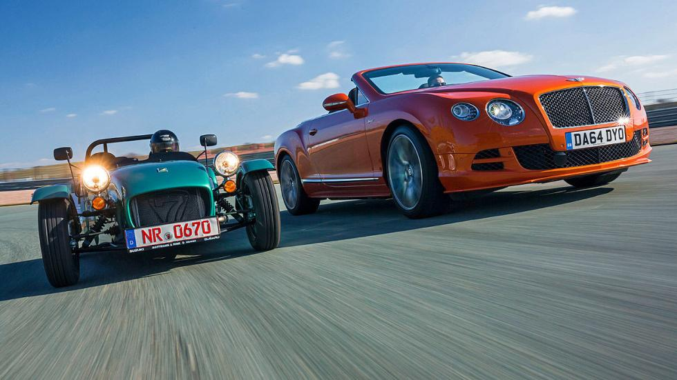 Bentley Continental GT Speed/Caterham Seven 16 6