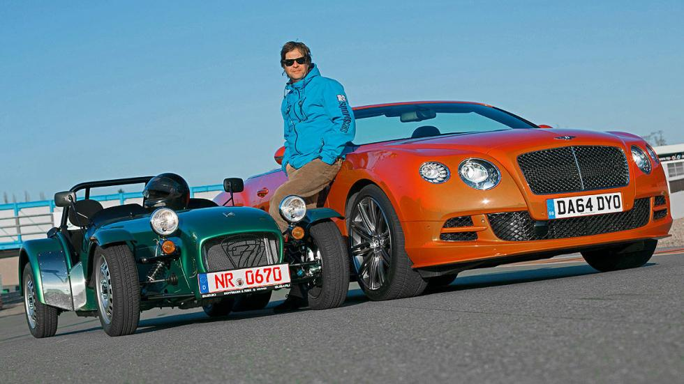 Bentley Continental GT Speed/Caterham Seven 16 7