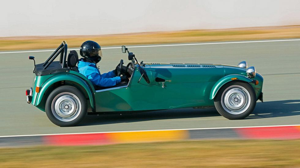 Bentley Continental GT Speed/Caterham Seven 16 25