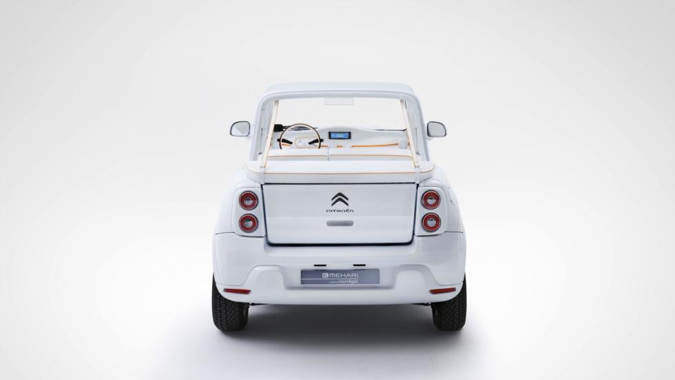 Citroën E-Mehari by Courrèges trasera