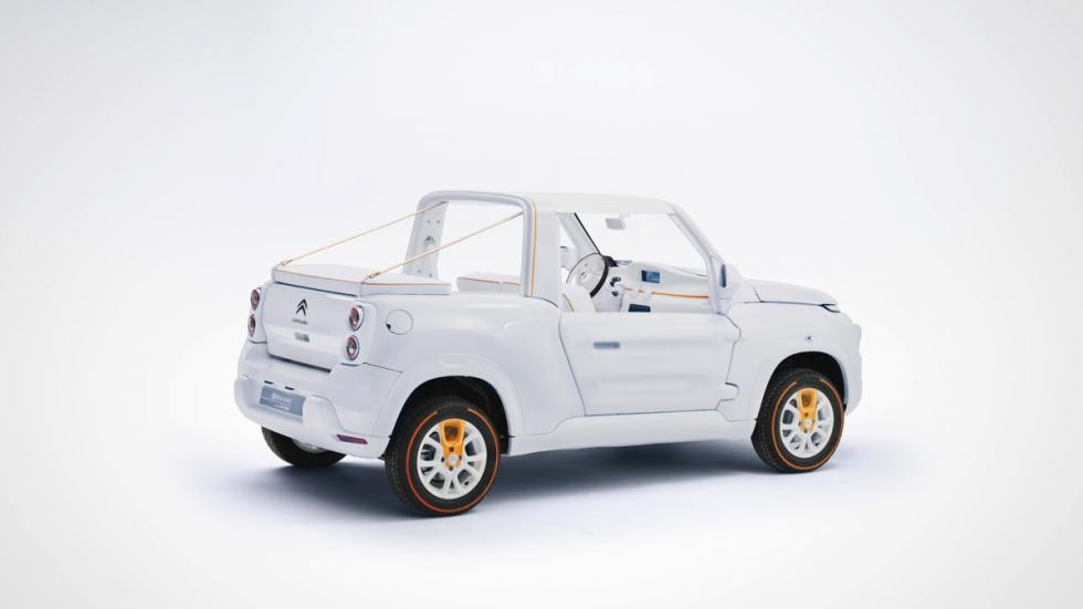 Citroën E-Mehari by Courrèges tres cuartos traseros