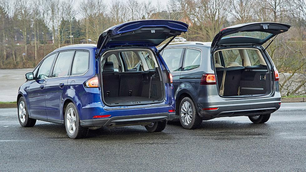 4 Volkswagen Sharan vs Ford Galaxy