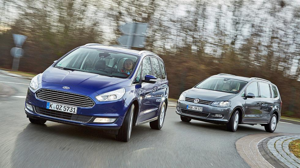 5 Volkswagen Sharan vs Ford Galaxy