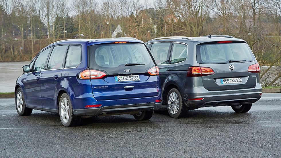 6 Volkswagen Sharan vs Ford Galaxy