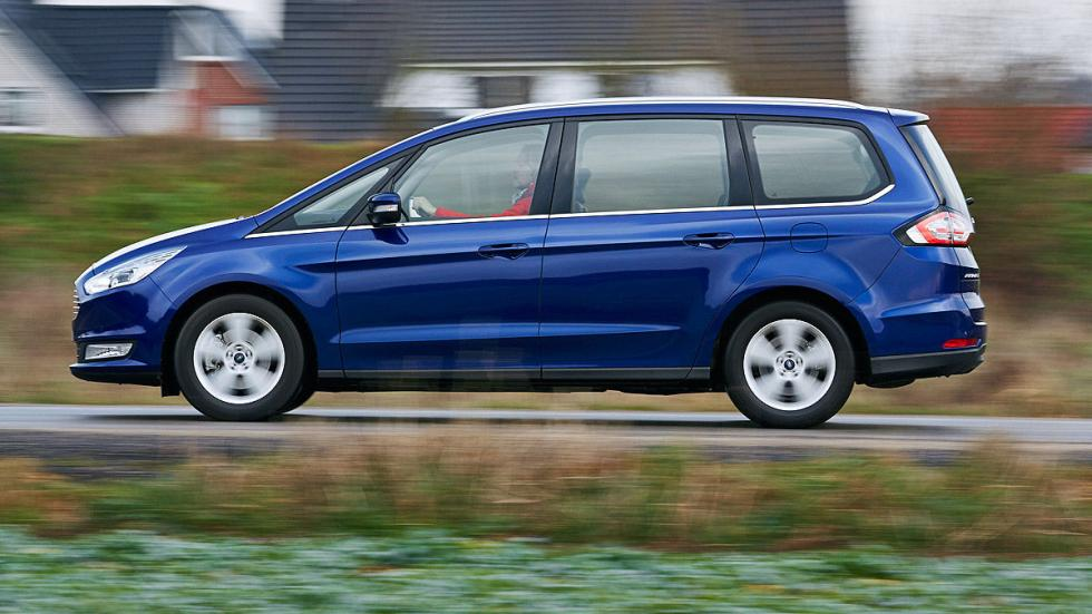 8 Volkswagen Sharan vs Ford Galaxy