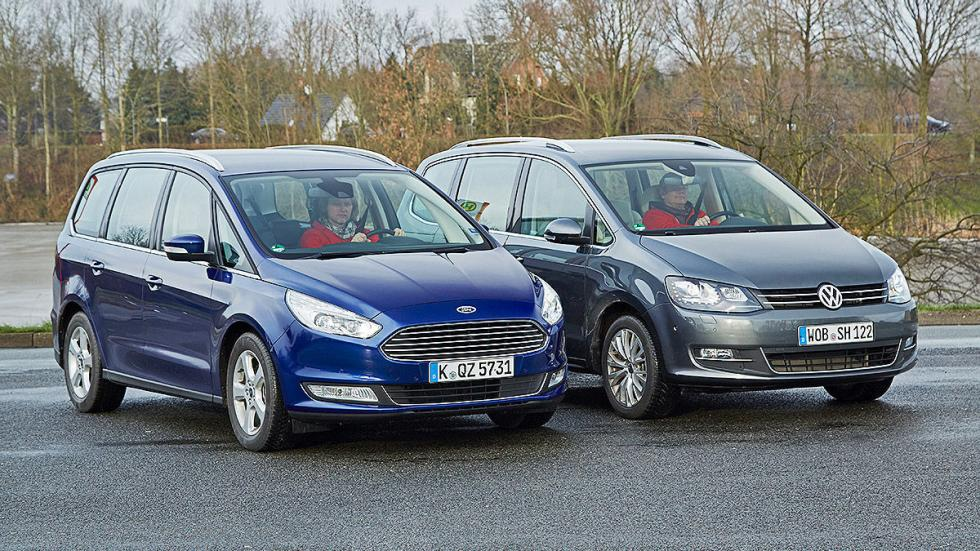 11 Volkswagen Sharan vs Ford Galaxy