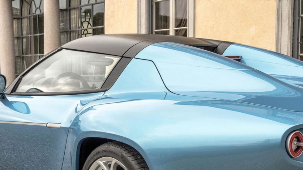 Alfa Romeo Disco Volante Spider detalle