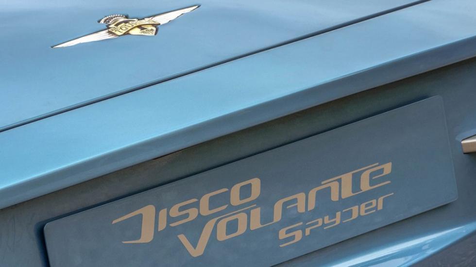 Alfa Romeo Disco Volante Spider logo