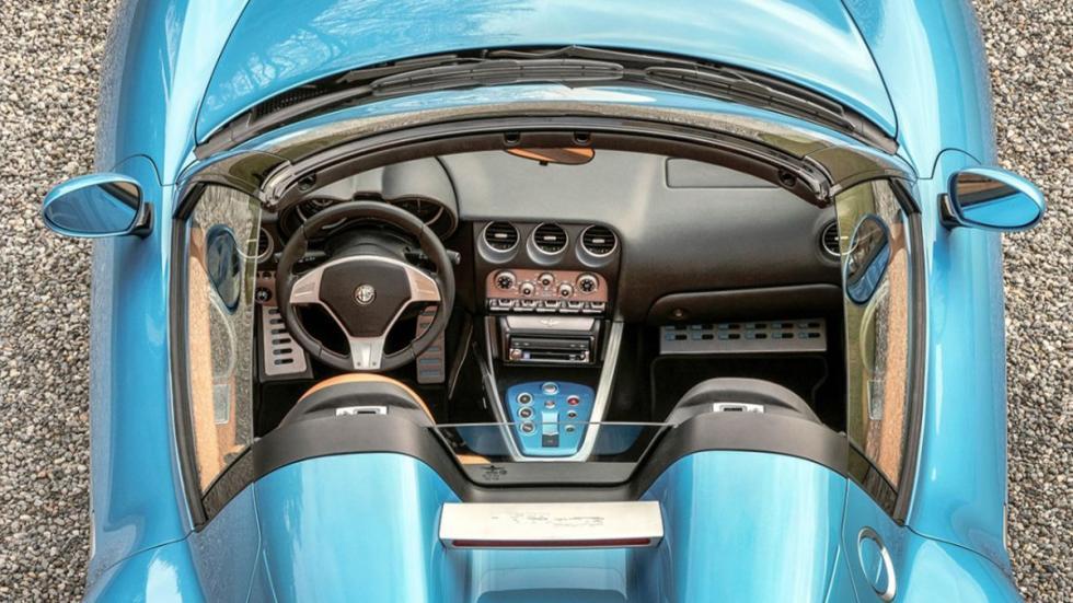 Alfa Romeo Disco Volante Spider interior