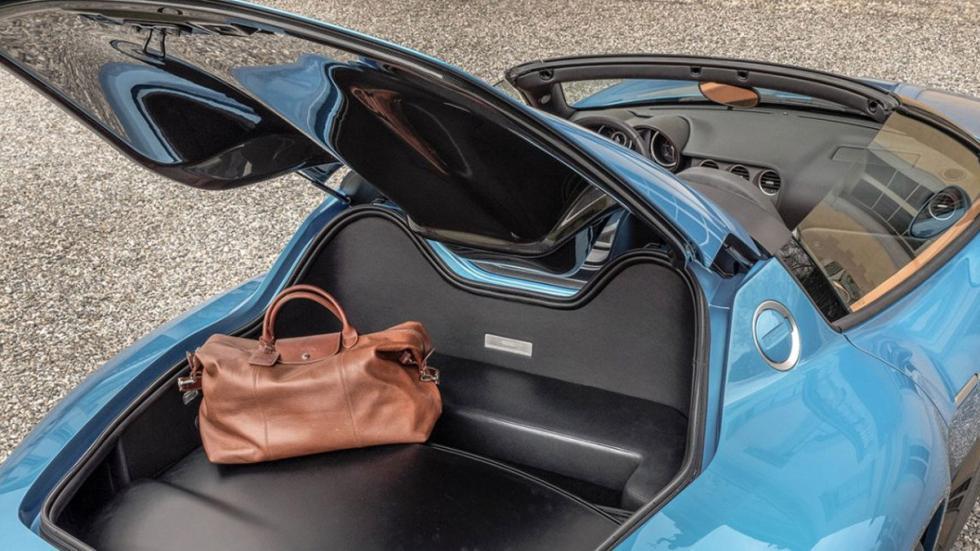 Alfa Romeo Disco Volante Spider maletero