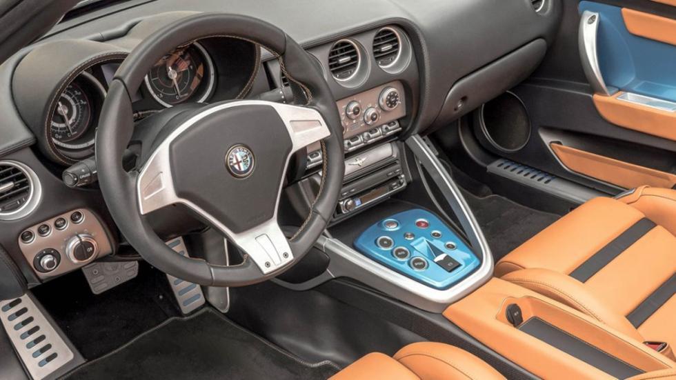 Alfa Romeo Disco Volante Spider salpicadero