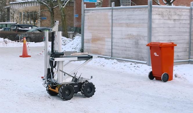 Volvo Roar robot autónomo  7
