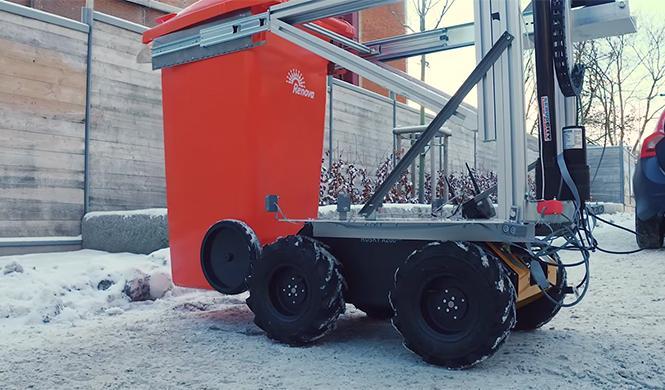 Volvo Roar robot autónomo  8