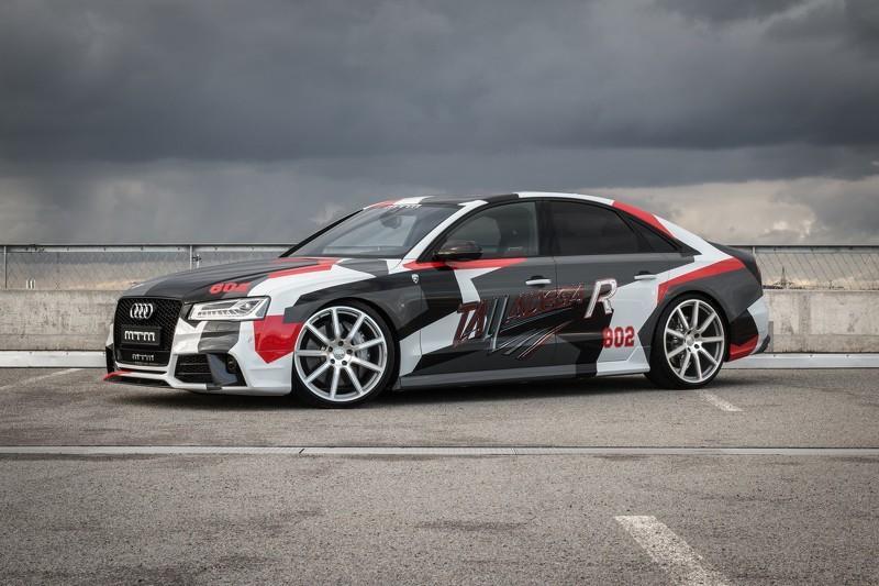 Audi S8 Talladega R by MTM: tres cuartos delanteros