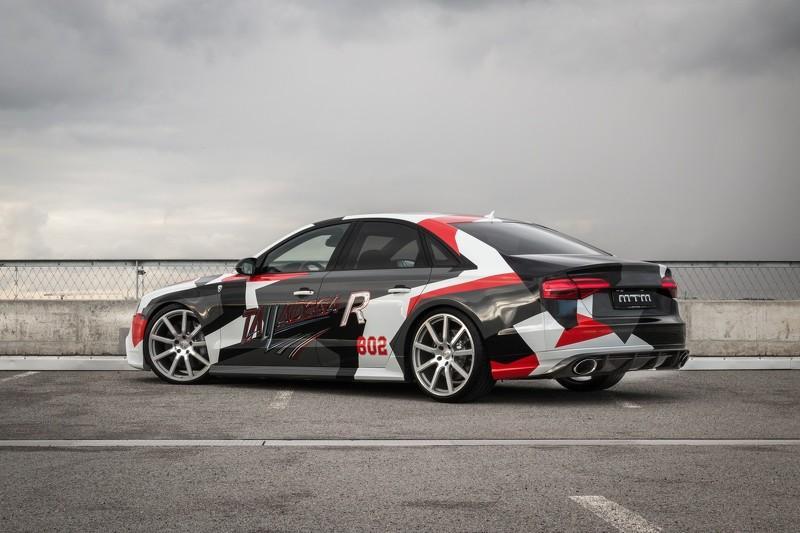 Audi S8 Talladega R by MTM: tres cuartos traseros