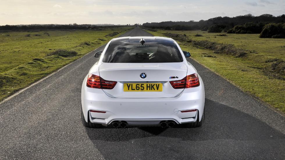 BMW M4 Paquete de Competición zaga