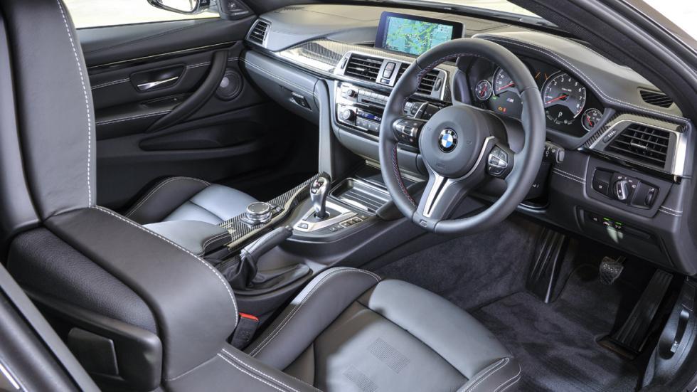 BMW M4 Paquete de Competición interior