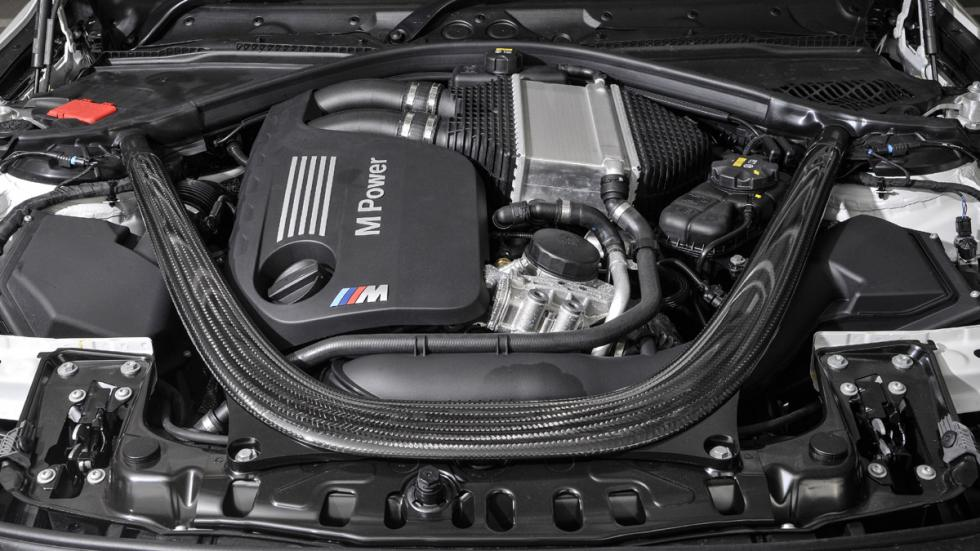 BMW M4 Paquete de Competición motor