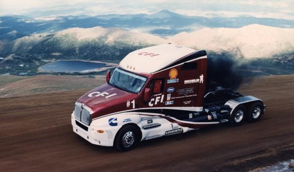 camion Glenn Brown pikes peak 1999
