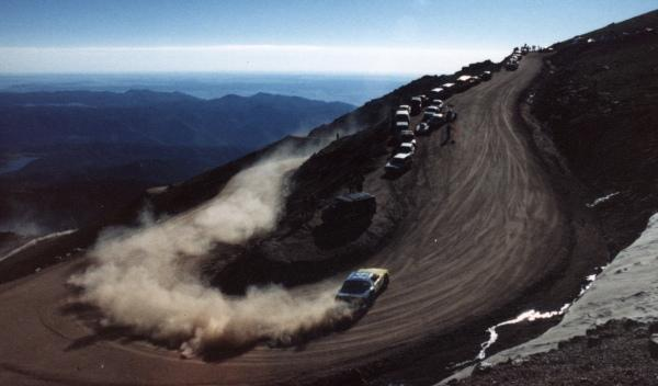 Accidente Rod Moberly pikes peak
