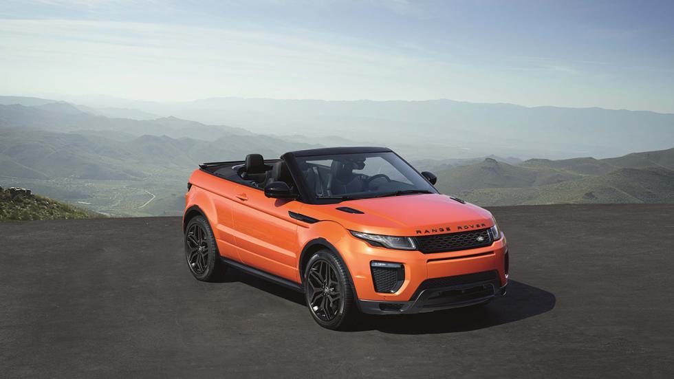 Range Rover Evoque Convertible frontal sin capota