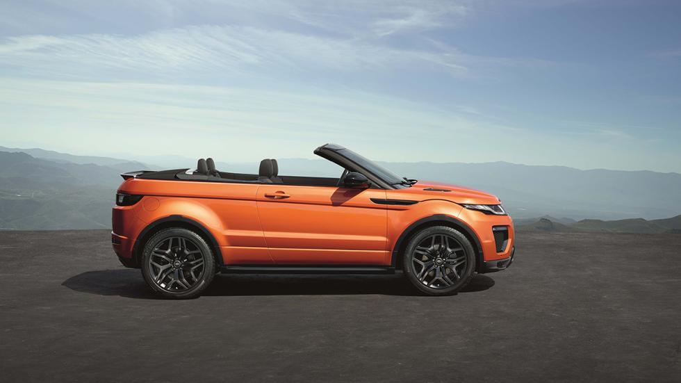 Range Rover Evoque Convertible perfil lateral